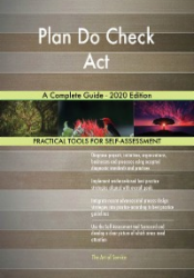 Plan Do Check Act A Complete Guide - 2020 Edition